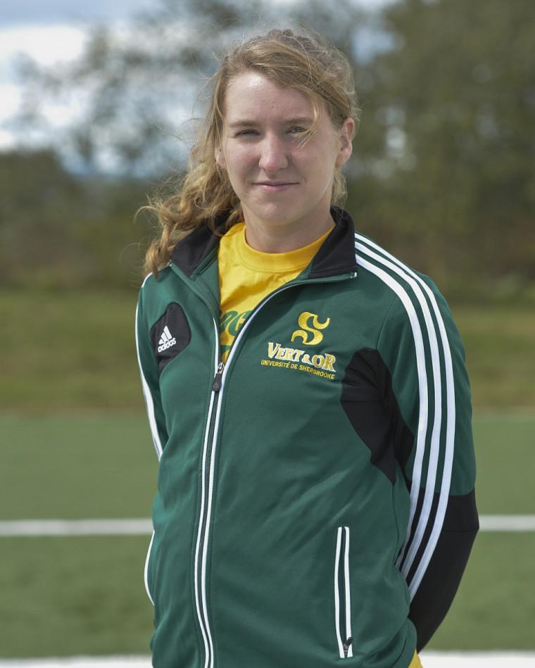 Marie-Ève Jacques a inscrit 4des 5premiers buts marqués par l'équipe féminine de soccer Vert&Or dans des victoires par jeu blanc de 2à0 et de 3 à0 lors de la première fin de semaine d'activité.