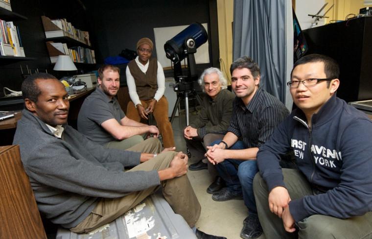 L'équipe de professeurs et chercheurs du Département de géomatique appliquée de l'UdeS