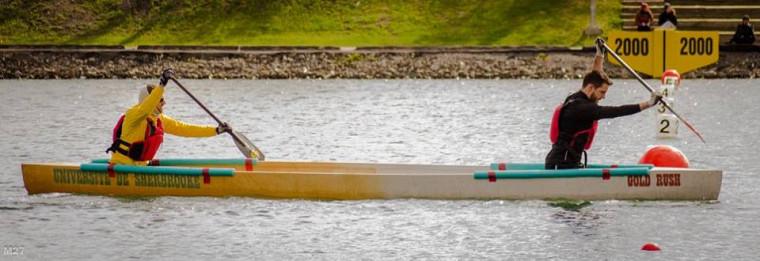 Gold Rush, le canoë de béton de l'Université de Sherbrooke