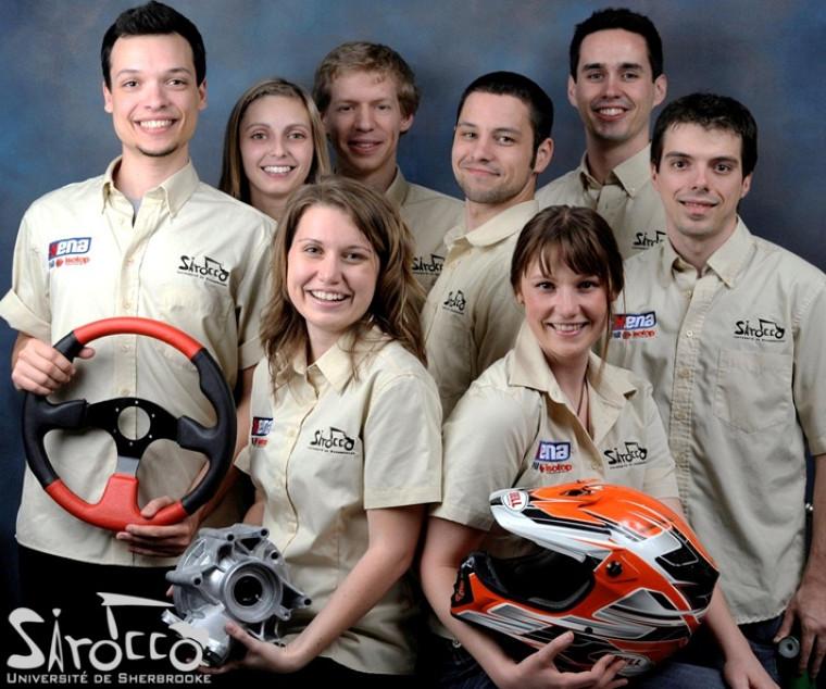 L'équipe du projet Sirocco.