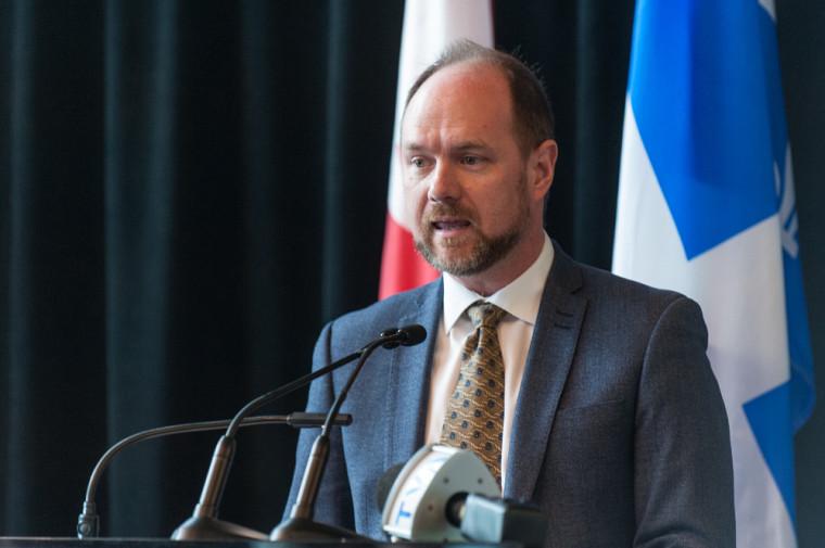 Le secrétaire général de la Commission canadienne pour l'UNESCO, M. Sébastien Goupil