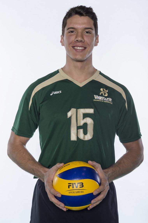 Le volleyeur du Vert & Or Raphaël Viens
