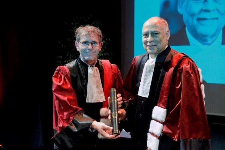 Le professeur Patrick Paultre reçoit un doctorat Honoris Causa de l'Université Grenoble Alpes.