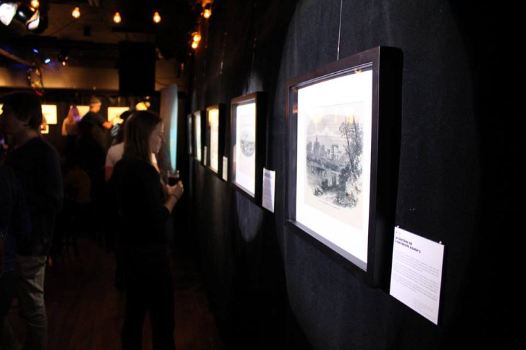 Lancement de l'exposition Histoires croustillantes, anecdotes étonnantes: les dessous de la gravure commerciale.