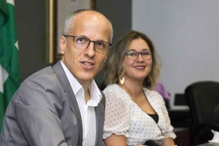 Le professeur Pierre Cossette, recteur de l'UdeS