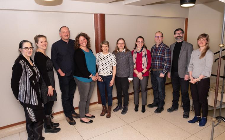 Quelques membres de la délégation de l'UdeS qui participeront aux activités de l'UANL.