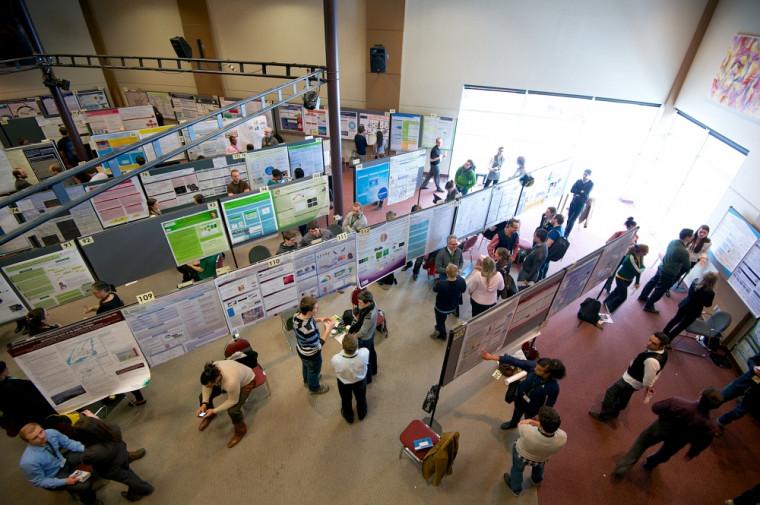La 13eJournée de la recherche a attiré un nombre record de participants.