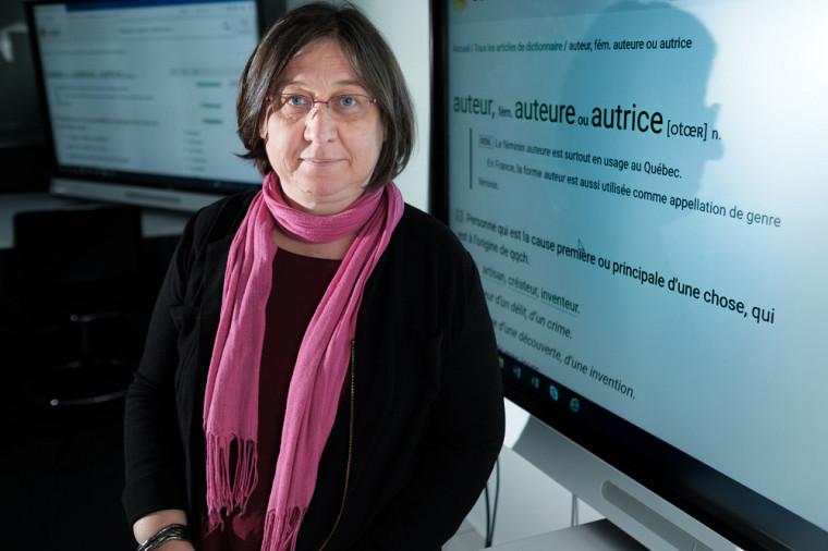 «Comme chercheuse, j'ai un réflexe: quand je suis décontenancée par un sujet, je le transforme en question de recherche», indique Nadine Vincent, professeure au Département de communication.
