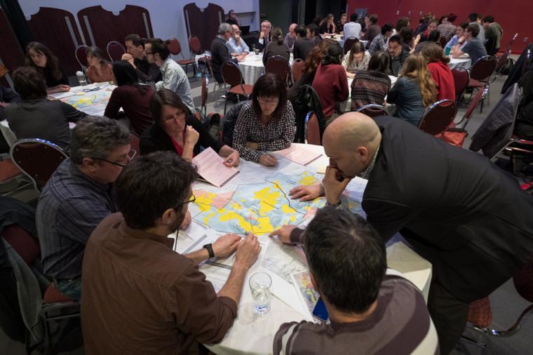 Plus de 70 personnes ont pris part à l'atelier de consultation organisé par le vice-rectorat à l'administration et au développement durable.