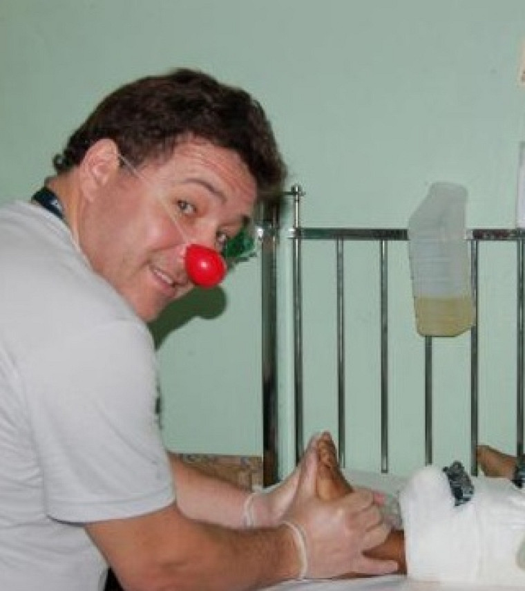 Lionel Hugonnier, physiothérapeute au CHUS
