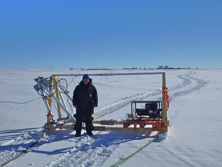 Les radiomètres micro-ondes utilisés sur le terrain sont des répliques miniatures de ceux employés dans les satellites en orbite.