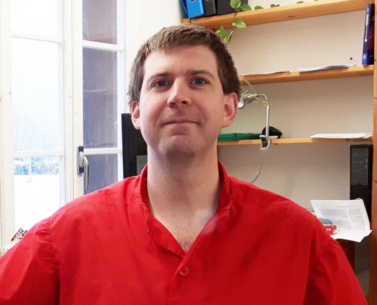Sacha Engelhardt est postdoctorant en biologie et auteur de la recherche