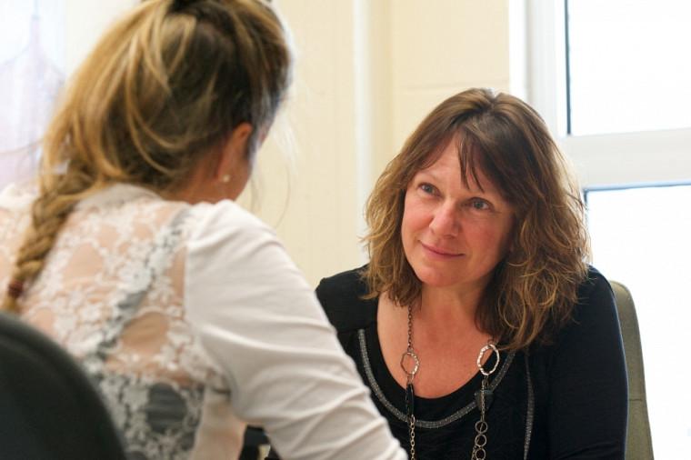 La paire aidante Suzanne Brouillette a le bien-être de ses collègues à cœur.