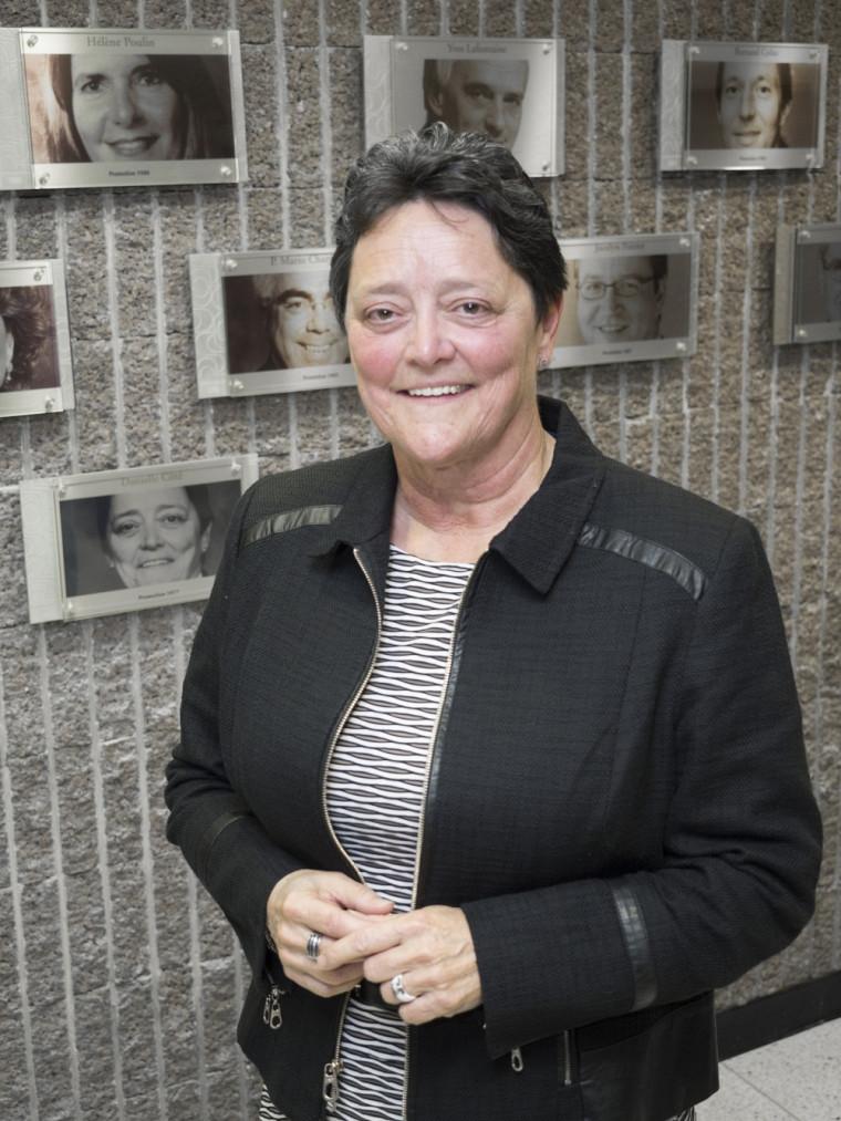 Danielle Côté, nouvelle ambassadrice de la Faculté de droit.