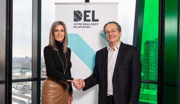 Julie Ethier, directrice générale, DEL et Yves Trudel, directeur des programmes MBA et des Maîtrises M.Sc. et M. Adm., Université de Sherbrooke.