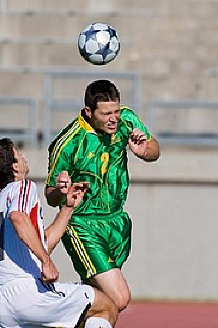 Le défenseur Guillaume Leblanc a dû quitter le match en première demie après avoir été blessé à une cheville