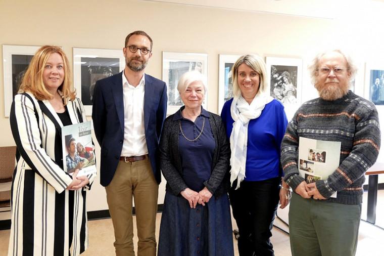 Pascale Robic, David Koussens, Ginette Racicot, France Lacharité et Michel Giguère