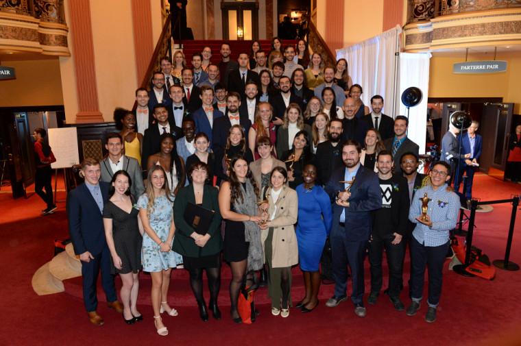 Photo fournie - lauréates et lauréats du concours Forces AVENIR 2019