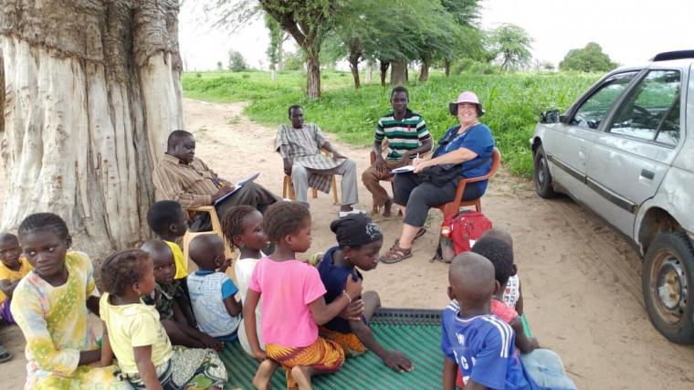 Éducation populaire au Sénégal lors d'une mission d'Ingénieurs Sans Frontières Québec