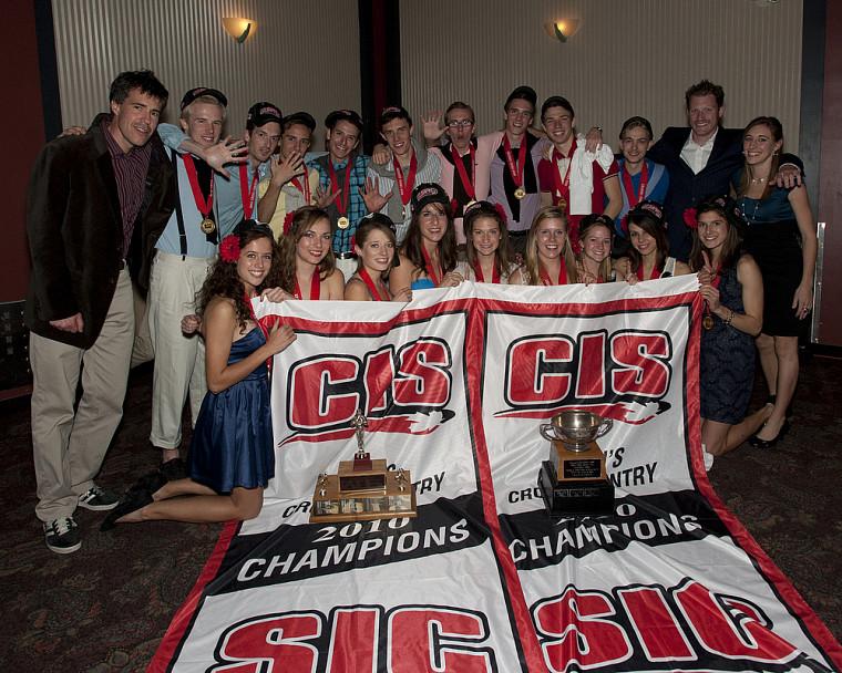 Les deux équipes de l'Université de Guelph ont remporté les titres par équipe.