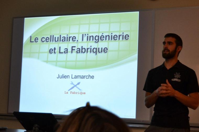 Julien Lamarche, co-fondateur deLa Fabrique