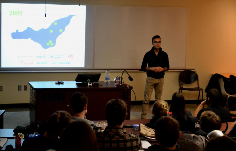 Gabriel Bran Lopez, co-fondateur deFusion Jeunesseet de Robotic First Québec