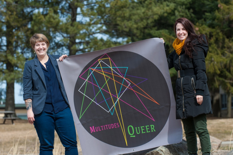 Marie-Dominique Duval et Catherine Dussault Frenette, co-organisatrices du Colloque Multitudes Queer.