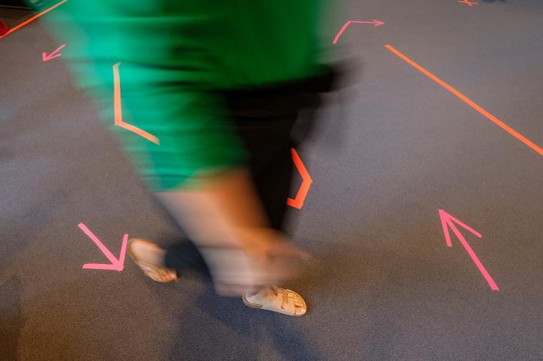 Les circuits des Journées de la rentrée ont été adaptés afin de respecter les consignes de distanciation physique.