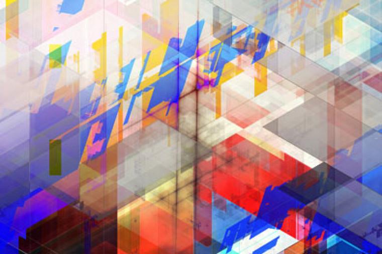 Intitulée La nature cristalline de la matière et de l'espace, l'œuvre originale a été conçue pour s'intégrer à l'architecture du 3IT.