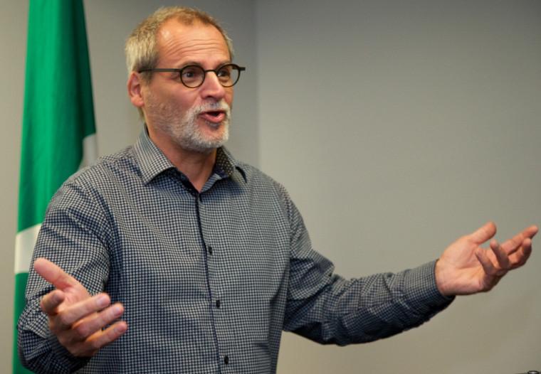 Professeur Alain Webster, vice-recteur au développement durable et aux relations gouvernementales et vice-recteur au Campus de Longueuil de l'Université de Sherbrooke.