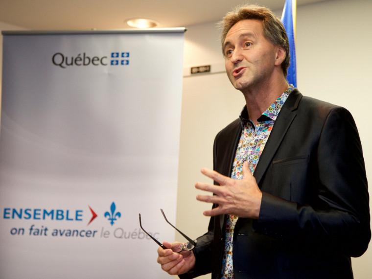 Monsieur Mario Trépanier, directeur du Centre culturel de l'Université de Sherbrooke.