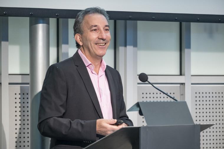 Claude Gaulin, président de la campagne et directeur général du Service des ressources financières