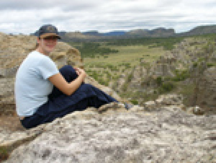 Visite du parc national de Isalo à Madagascar (janvier 2007)