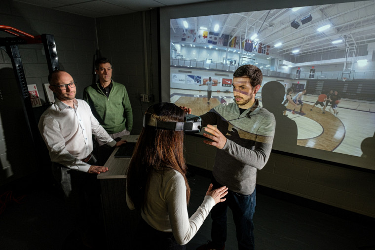 Le recours à la réalité virtuelle permet l'amélioration des capacités de prise de décision au basketball.