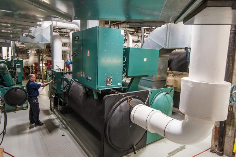 Le programme d'efficacité énergétique de l'UdeS a permis de réduire de 40 % l'intensité énergétique des bâtiments.