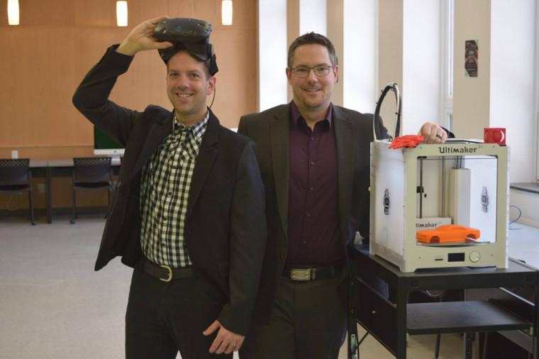 Félix Arguin et Guillaume Laporte, ambassadeurs 2019 de la Faculté d'éducation