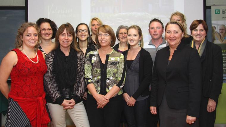 Les récipiendaires des Prix d'excellence en éducation2012.