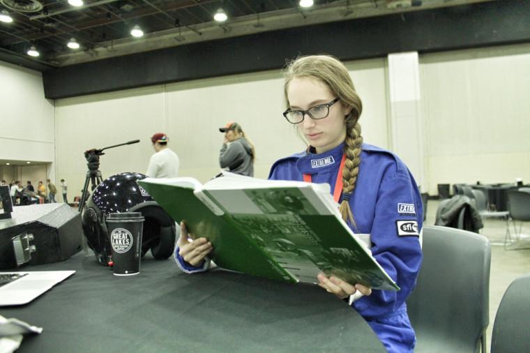 La pilote du projet Beyond, Caroline Brière-Boyer, a adapté sa conduite en fonction de ce qui se présentait sur la route.