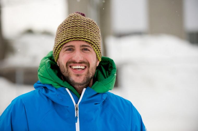 L'étudiant à la maîtrise en télédétection Bruno-Charles Busseau est le représentant québécois du groupe RinkWatch.