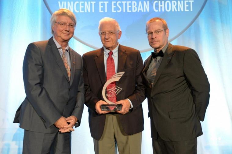 Gagnant, catégorie Bâtisseurs - Entreprise innovante : Vincent Chornet, président et chef de la direction chez Enerkem,etEsteban Chornet, cofondateur et chef de la direction technologique chez Enerkem.