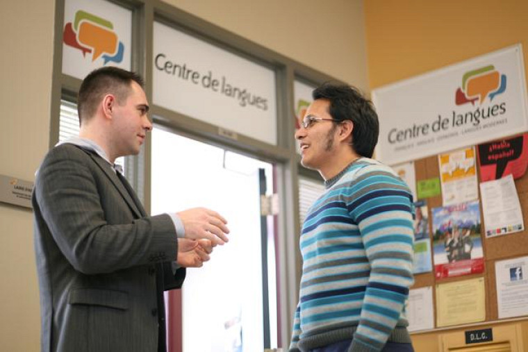 Le Centre de langues de l'Université de Sherbrooke est situé au A3-200 (Faculté des lettres et sciences humaines).