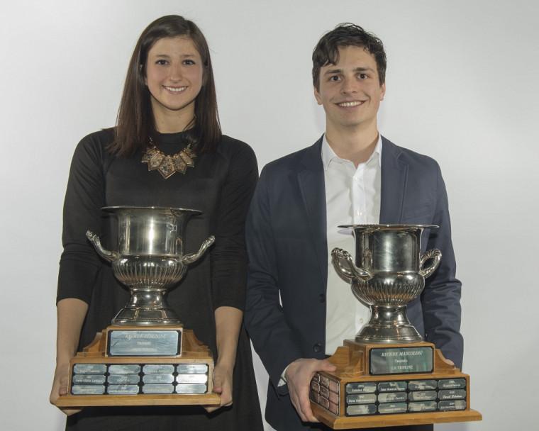 Sarah-Jeanne Meunier-Bédard et Justin Roy.
