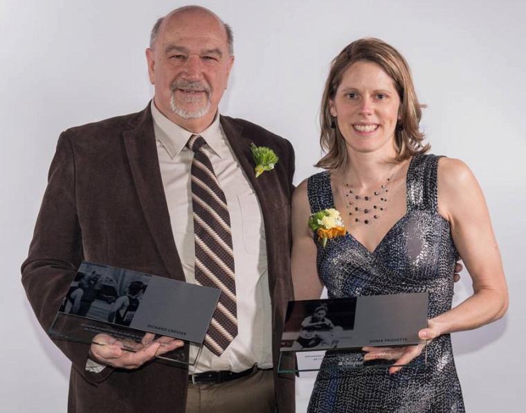 Richard Crevier et Sonia Paquette