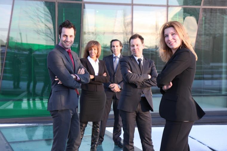 Marc-André Proulx, Mylène Béliveau-Toussaint, Sébastien Beaulieu, Christian Denis et Marie-Claude Desjardins