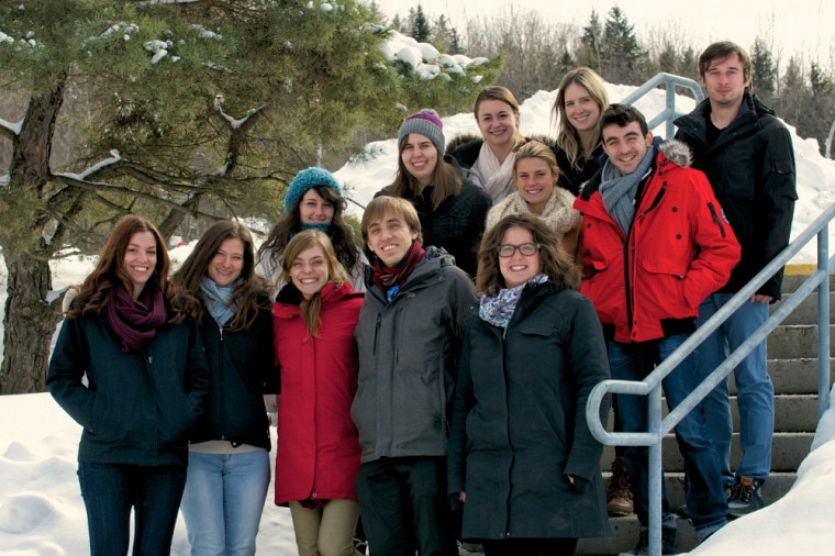 Le comité organisateur du 26e Colloque de l'AMEUS.