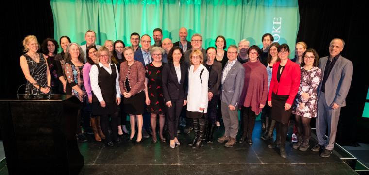 Des personnes s'étant distinguées de façon exceptionnelle ont été honorées le 26 février lors de la9e Cérémonie annuelle de la qualité de l'enseignement.