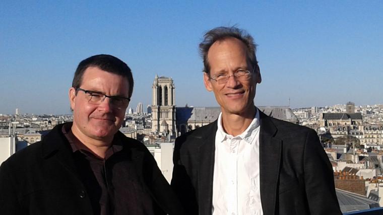 Cyril Proust, et Louis Taillefer, en octobre 2016.