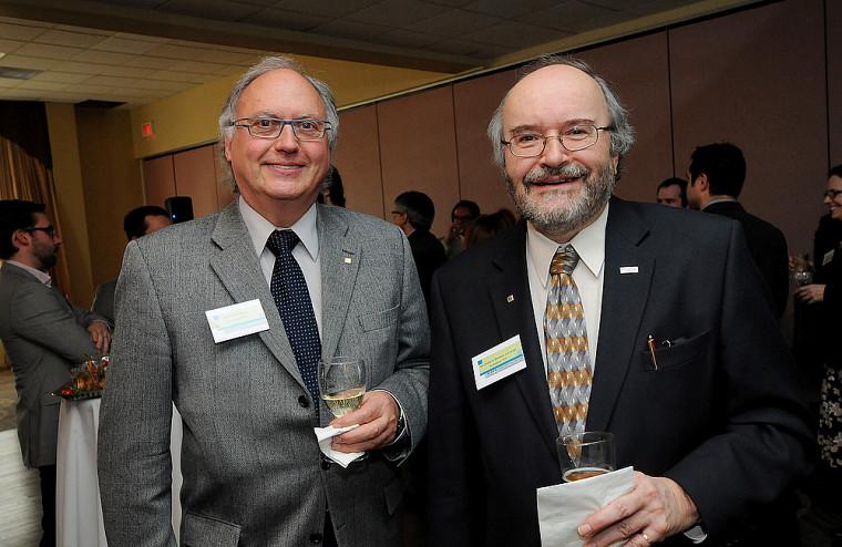 William Dufort et André-Gilles Brodeur, deux membres de longue date du CA de l'ADDUS.