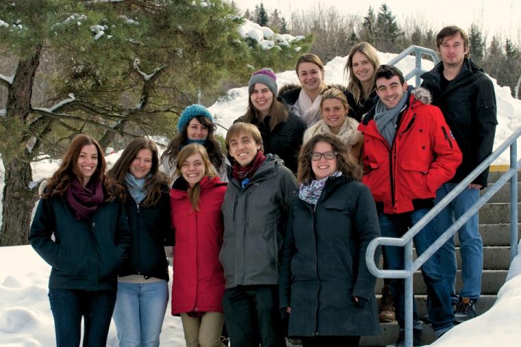 Le comité organisateur du 26eColloque de l'AMEUS