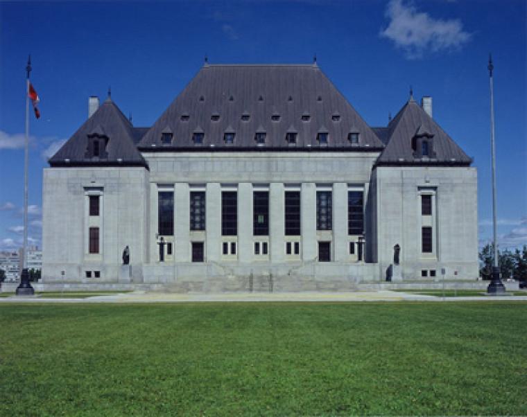 Philippe Landreville, Collection de la Cour suprême du Canada